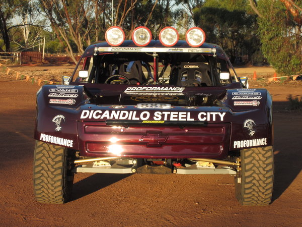 4X4 Desert Racing Trophy Truck - Mid Mounted Engine - IFS -   for Sale $150,000