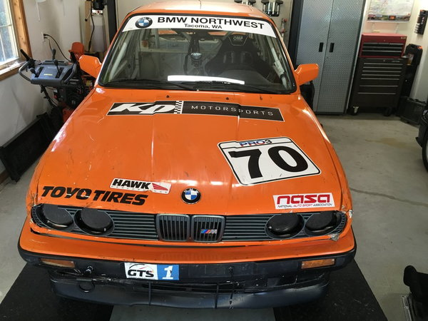 1991 BMW 325i GTS1/PRO3 Race Car (150hp)  for Sale $7,500