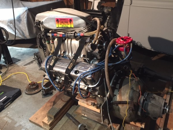 557 Rodeck Blown alchohol engine  for Sale $18,000