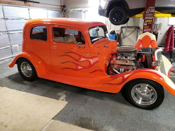 1933 Ford vicky Custom