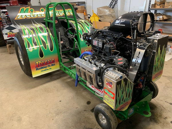Mini Fever Mini Pulling Tractor   for Sale $135,000