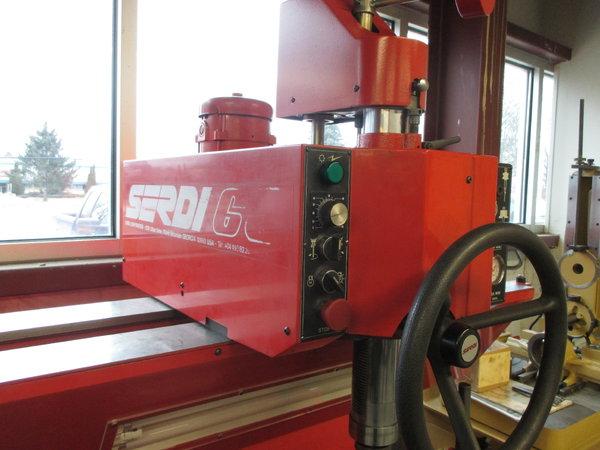 Serdi 60 valve guide and seat machine  for Sale $24,500