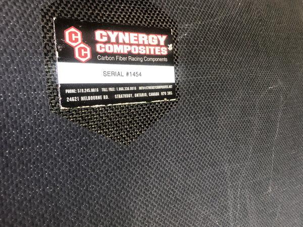 NOS Cynergy carbon fiber camaro body