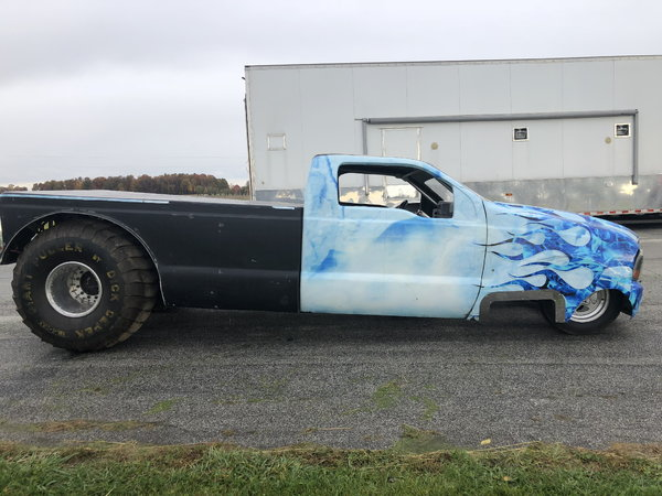 PRICE REDUCED TWD PULLING TRUCK ROLLING CHASSIS
