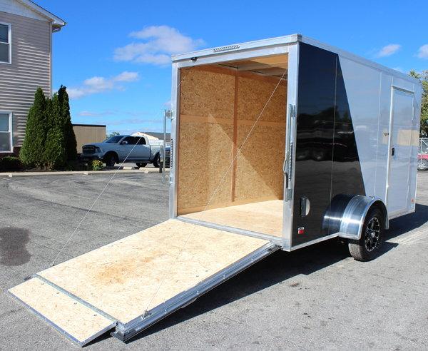 Say Goodbye to Rust! 6'x12' All Alum. Cargo Trailer