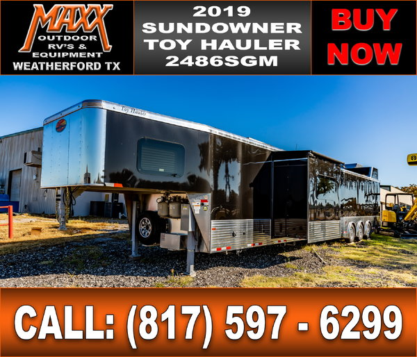 2019 SUNDOWNER 2486SGM TOY HAULER