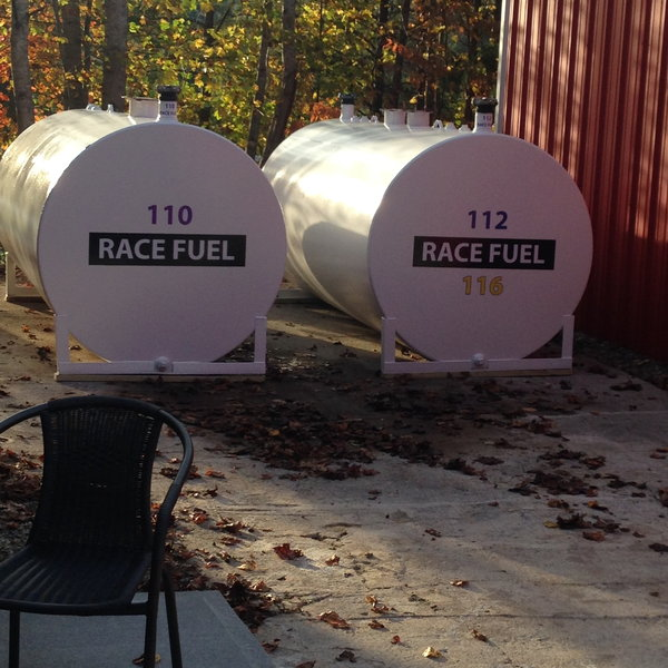 Racing Fuel Business Tanks & (2) New Fuel Pumps  for Sale $3,950
