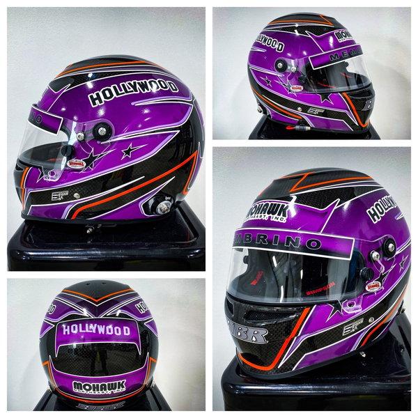 NEW & COMPLETE Simpson Carbon Fiber Devil Ray Helmet  for Sale $850