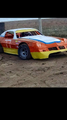 Dirt track camaro w engine