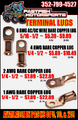 Terminal Lugs For Sale!