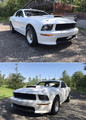 2009 Mustang CJ Body in white rolling chassis