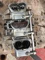 Six Pack Carburetors w/Edelbrock intake--440 ci engine
