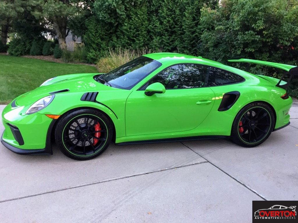 2019 Porsche 911 GT3 RS In Lizard Green