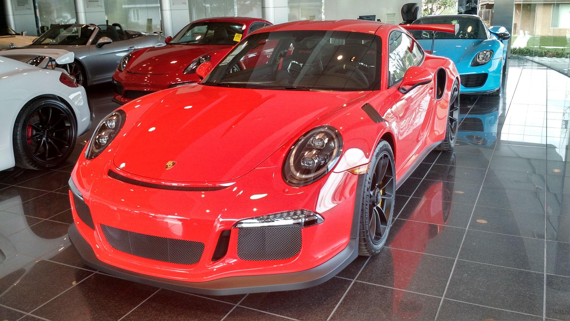 A Few Cool Porsches At Pacific Rennlist Porsche