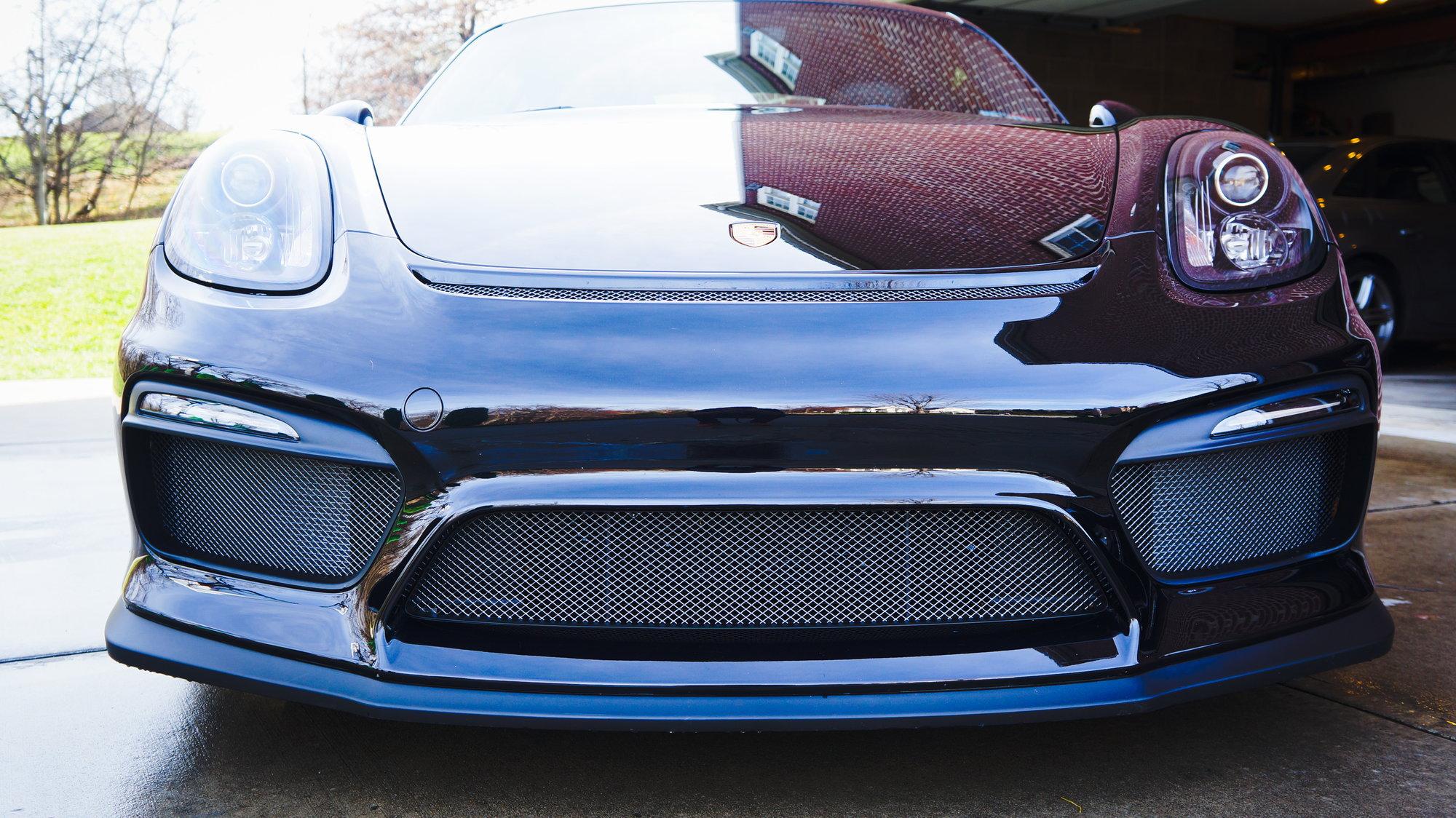 paint front wire mesh grill? - Rennlist - Porsche Discussion
