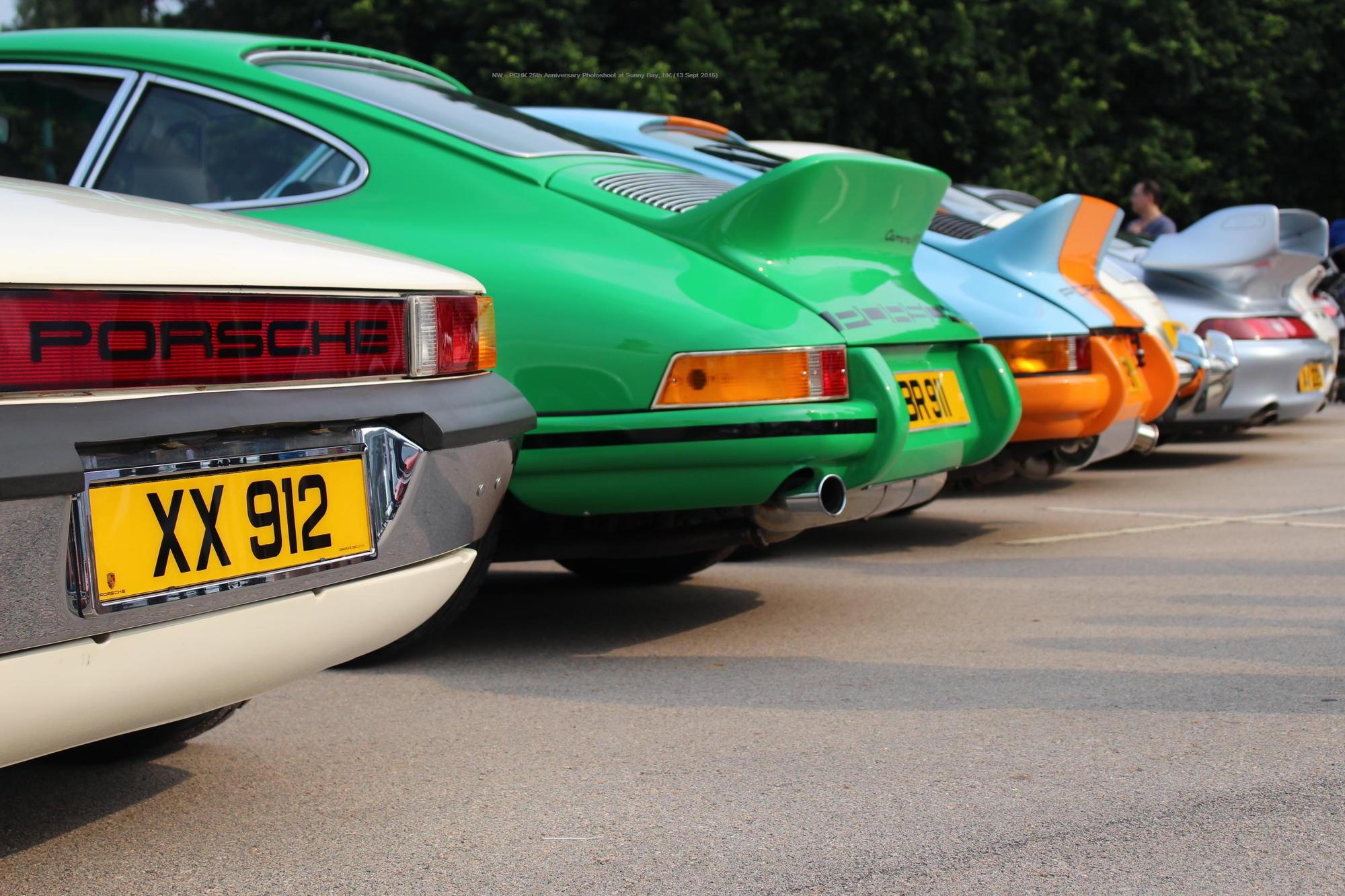 Re Porsche Club Hong Kong 25th Anniversary Photoshoot