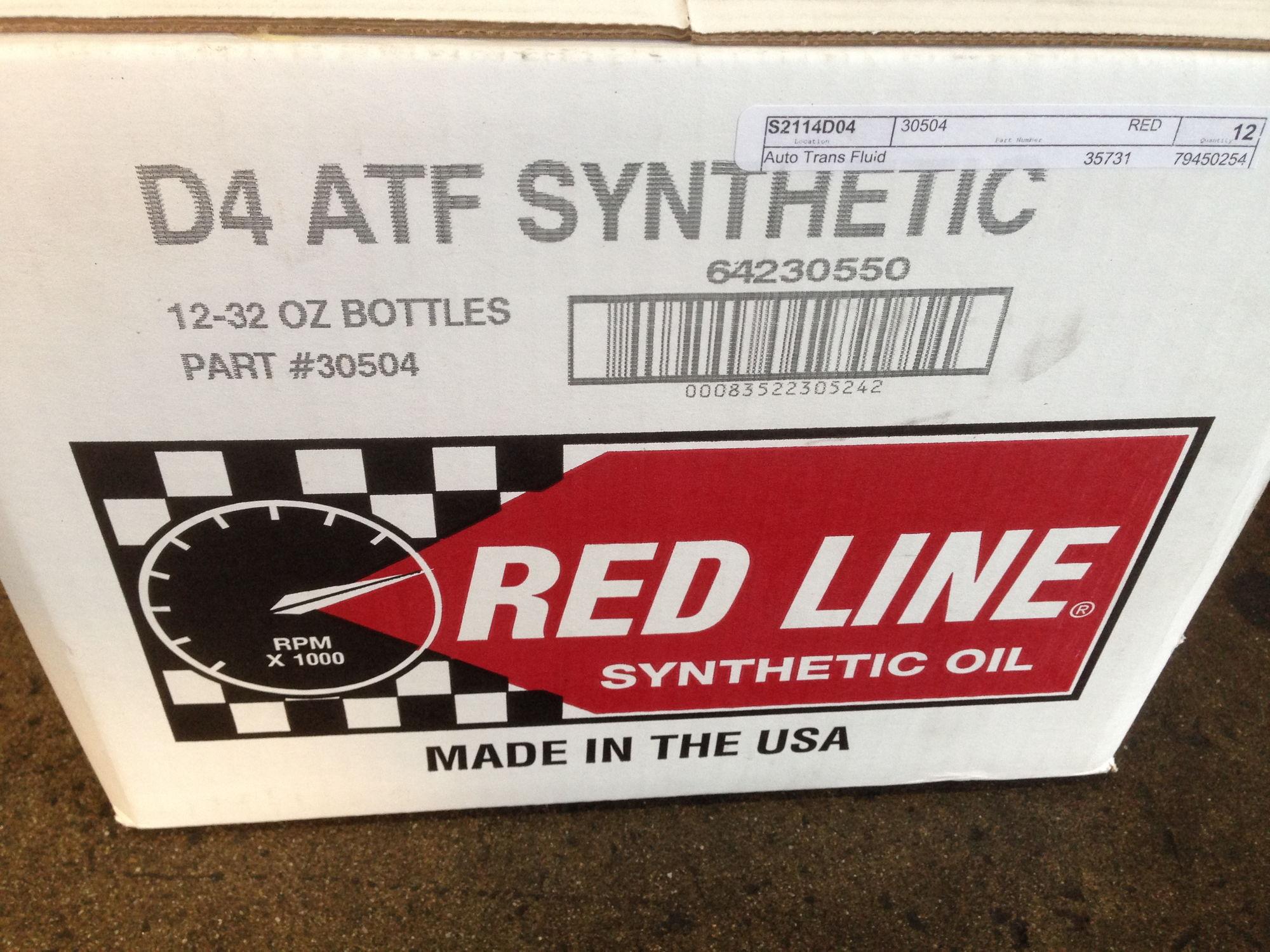 Transmission red line d4 8 quarts meyle filter from autohausaz com front differential red line 75w 90 transfer case fuchs titan atf 5005 1 quart