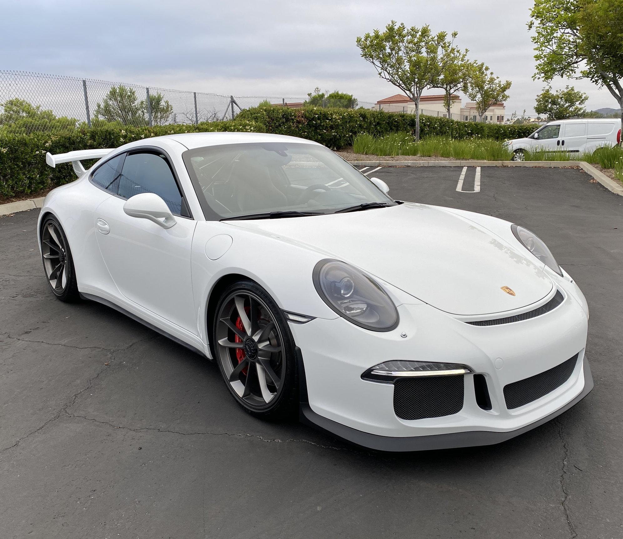 2014 Porsche GT3 - White - Extended Warranty - Private ...