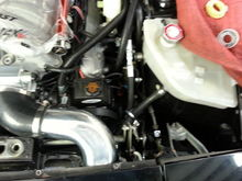 Racing turn one power steering pump