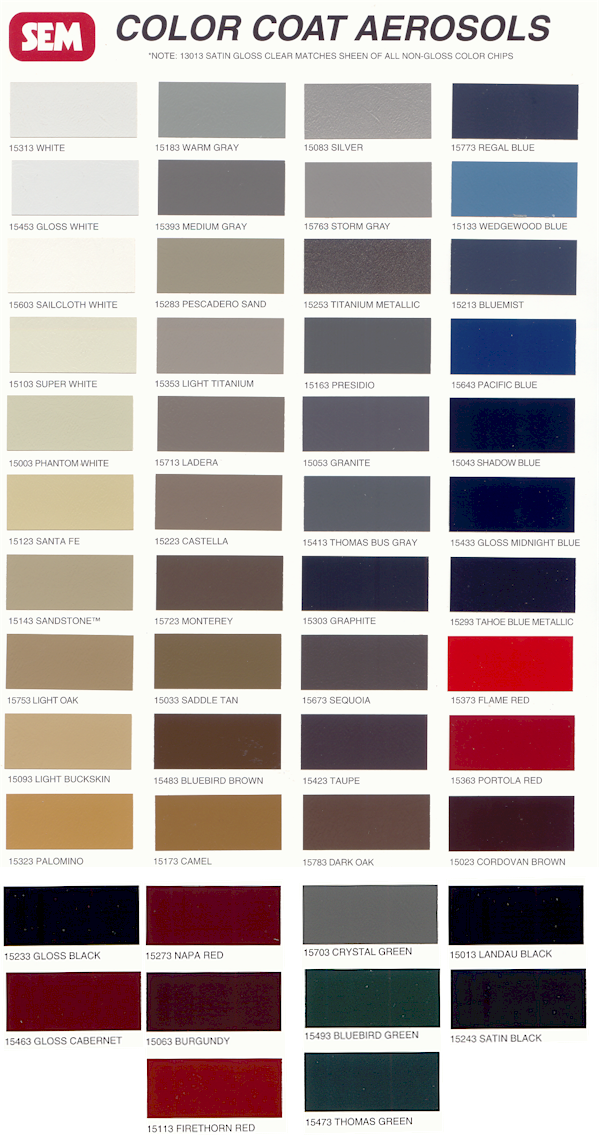 Sem Vinyl Interior Paint Rennlist Porsche Discussion