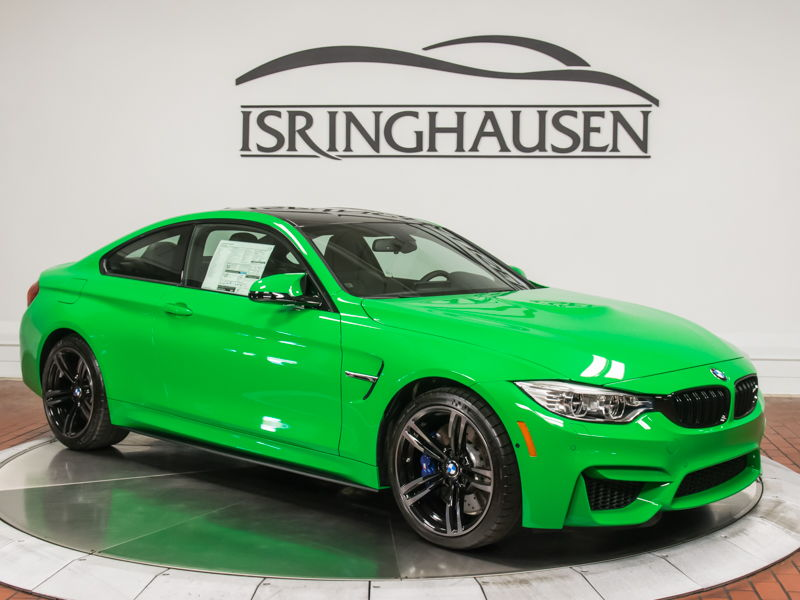 Dealer Inventory 2016 BMW M4 in Signal Green with 6Speed  MSRP