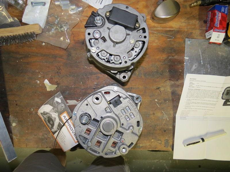140amp Cs144 Alternator Swap - 1983 928s