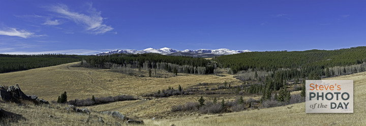 Bighorn Mountains from Hunter Camp, Johnson County WY