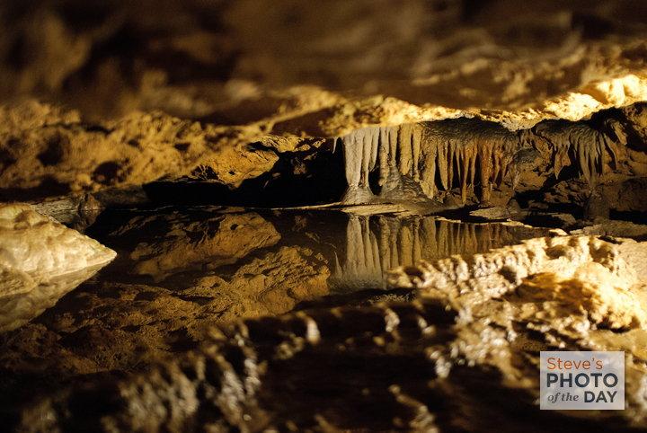 Florida Caverns Reflection