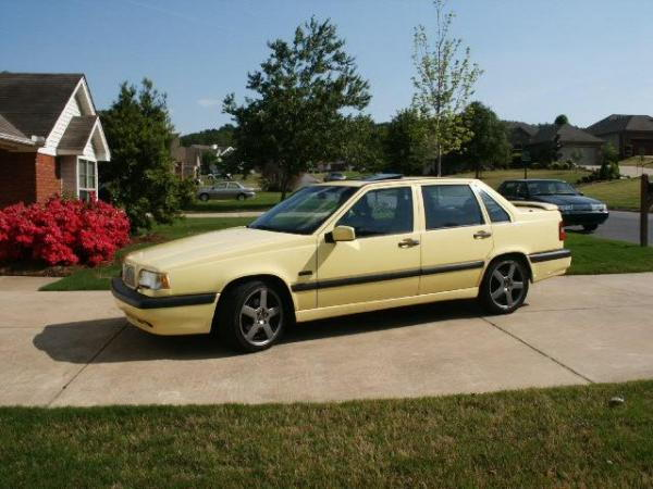 for sale 1995 volvo 850 t 5r yellow t5r volvo forums volvo enthusiasts forum. Black Bedroom Furniture Sets. Home Design Ideas
