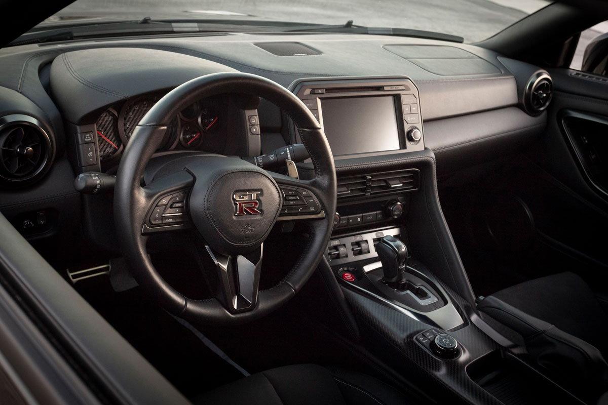 2017 Nissan GTR Black On Black