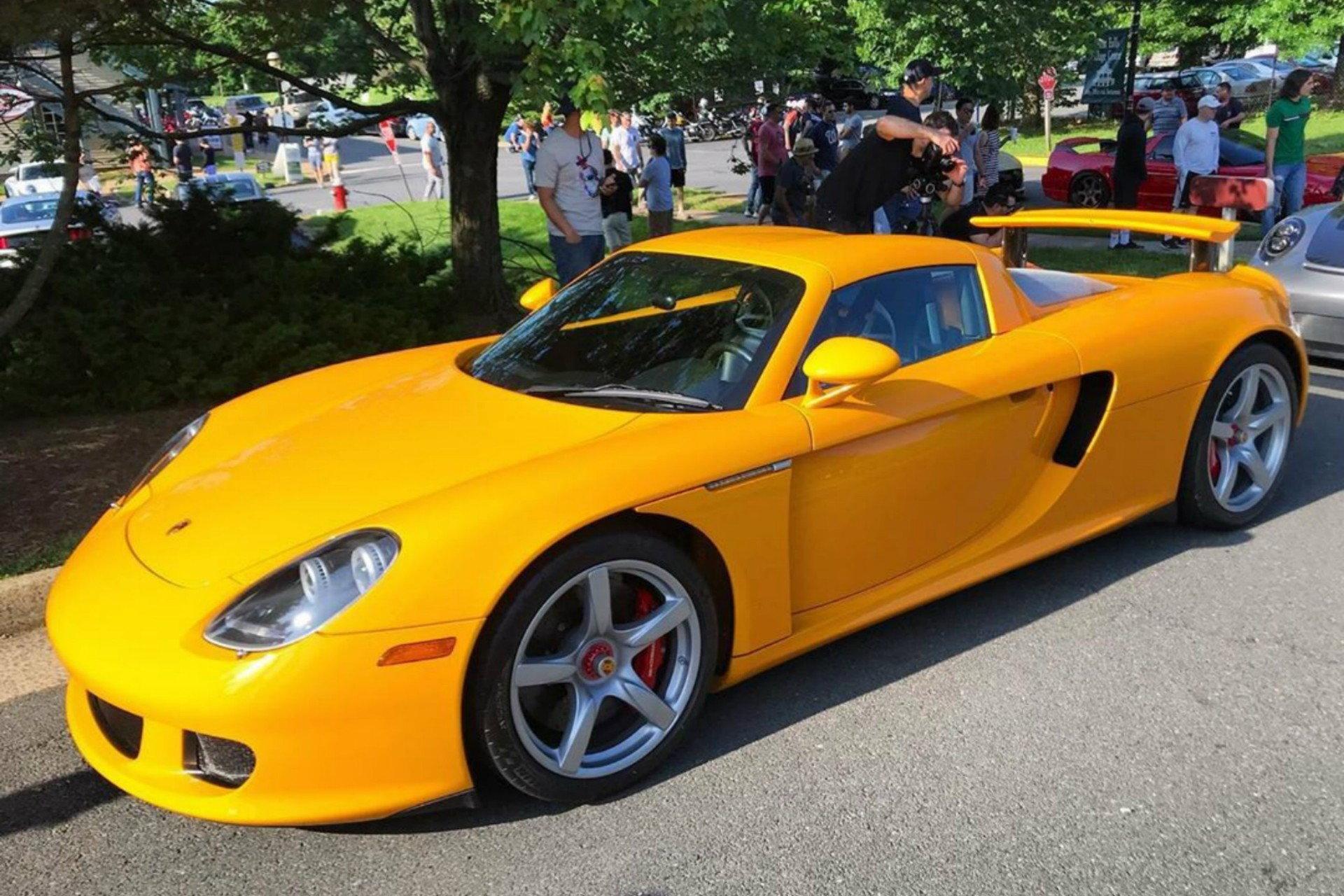 Rare Signal Yellow Porsche Carrera GT - 6SpeedOnline