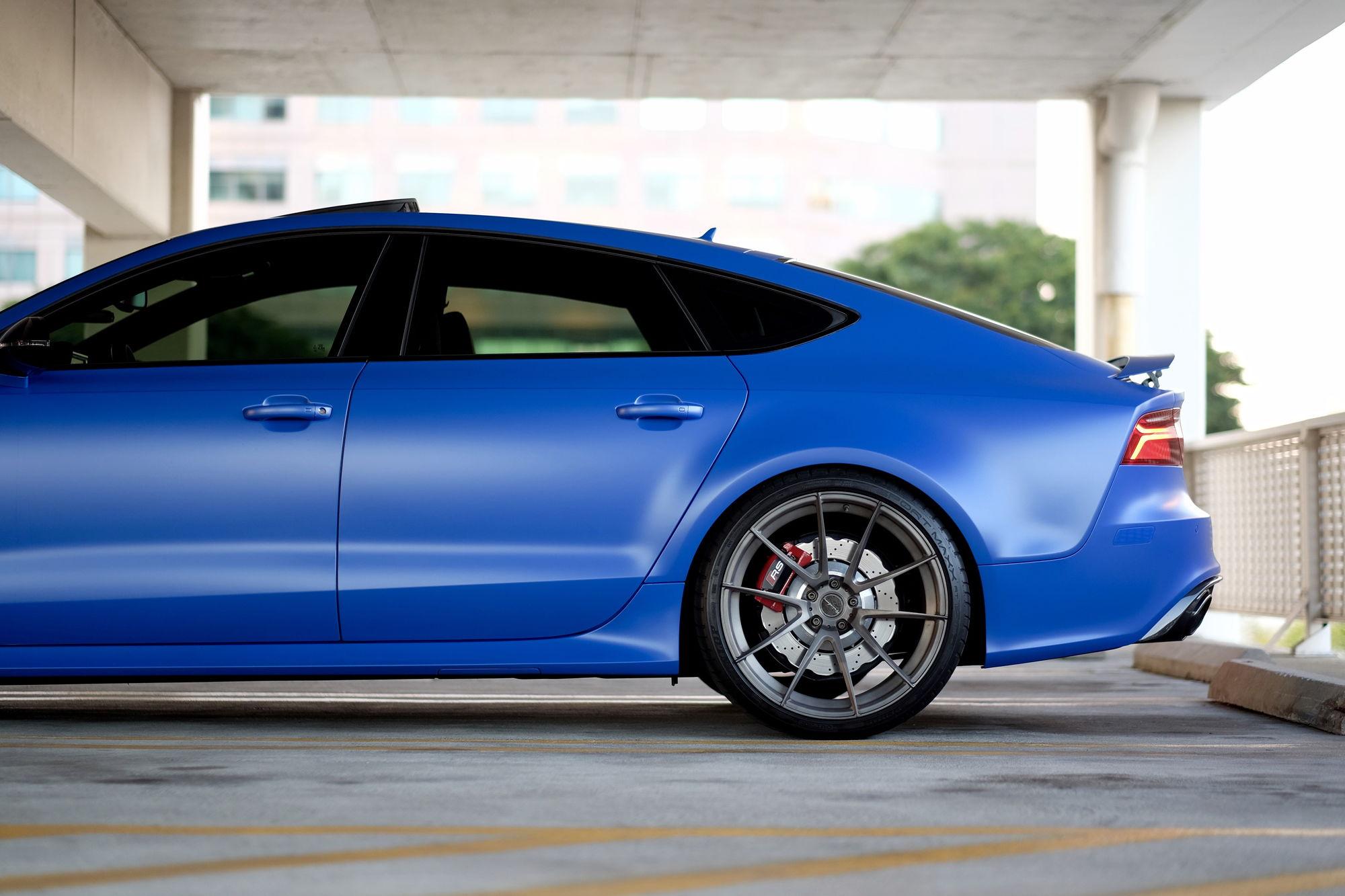 Satin Nogaro Blue Rs7 6speedonline Porsche Forum And