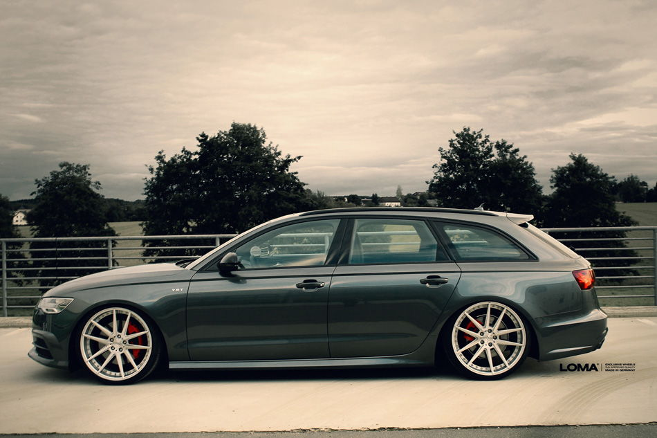 365HP Audi A6 TDI with 21 Inch LOMA Wheels - 6SpeedOnline ...