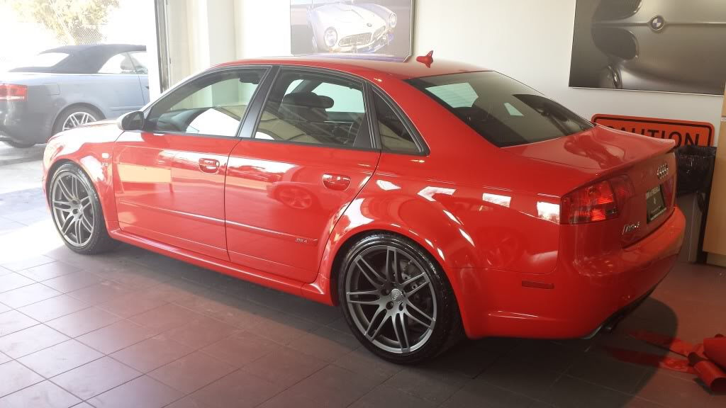 Audi Other Fs In Nj 2008 Rs4 Misano Red Titanium Trim