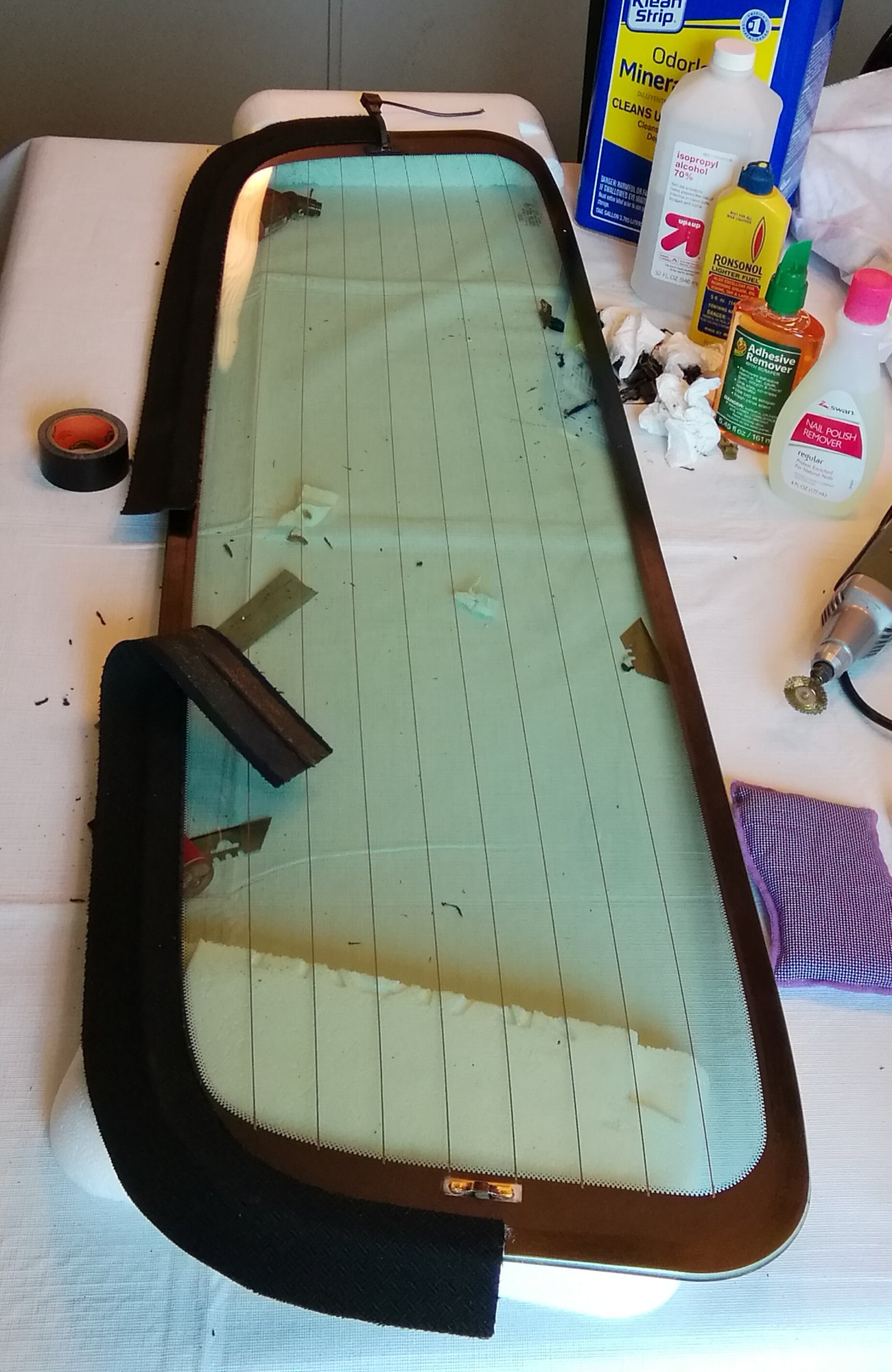 Convertible rear window becoming unglued    - AudiWorld Forums