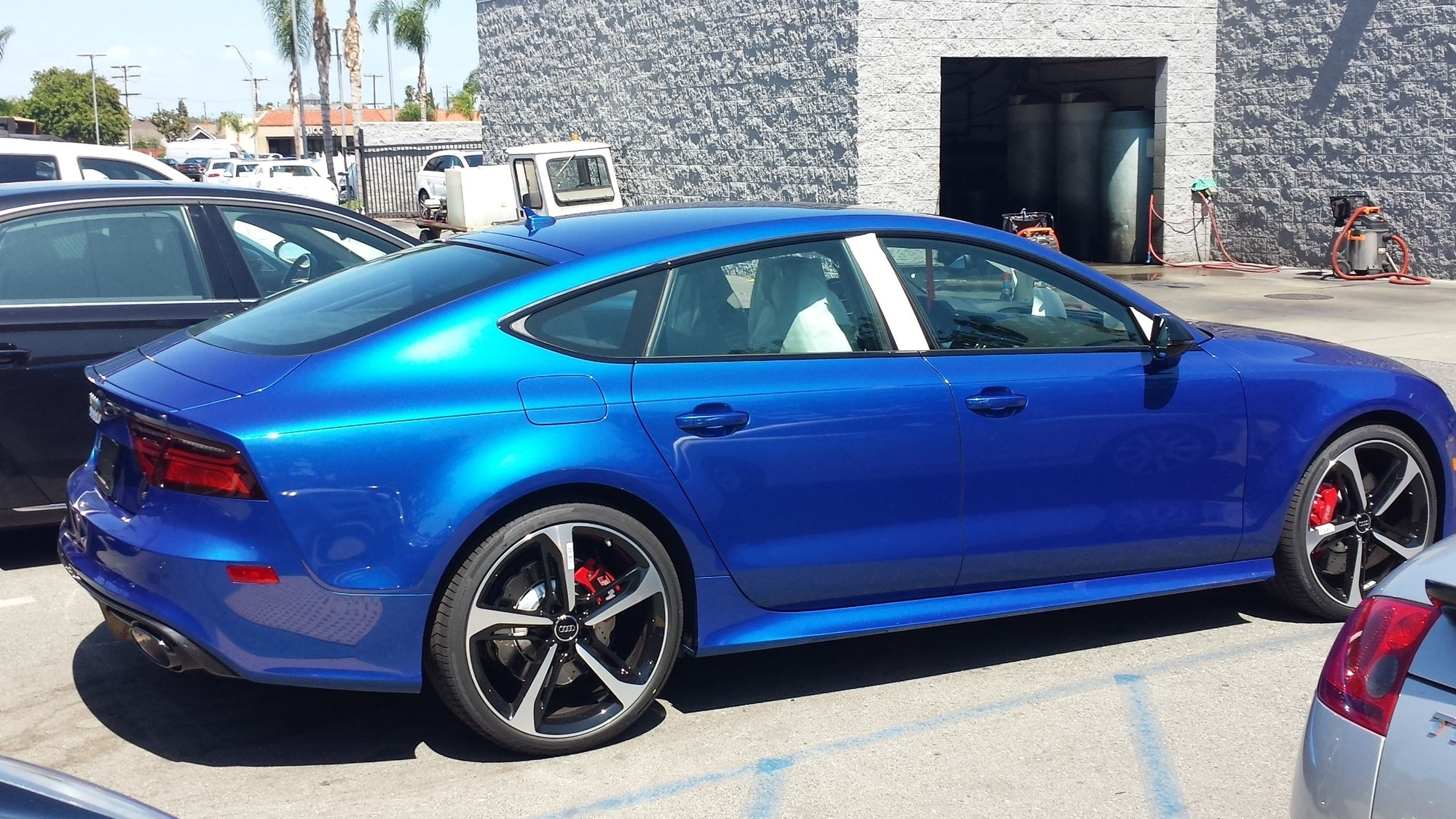 2016 Sepang Blue Rs7 With Audi Exclusive Interior