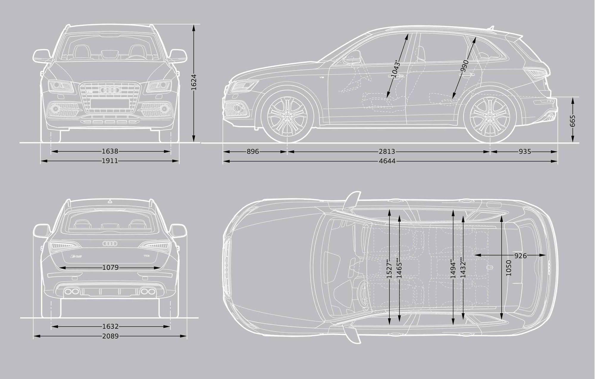 Cargo dimensions AudiWorld Forums
