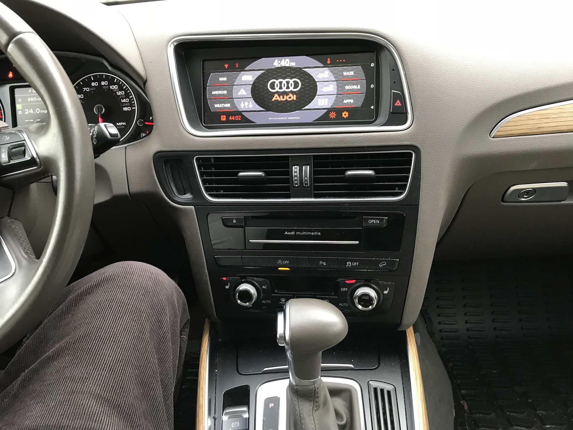 My Android Headunit Installed In My 2014 Q5 Audiworld Forums