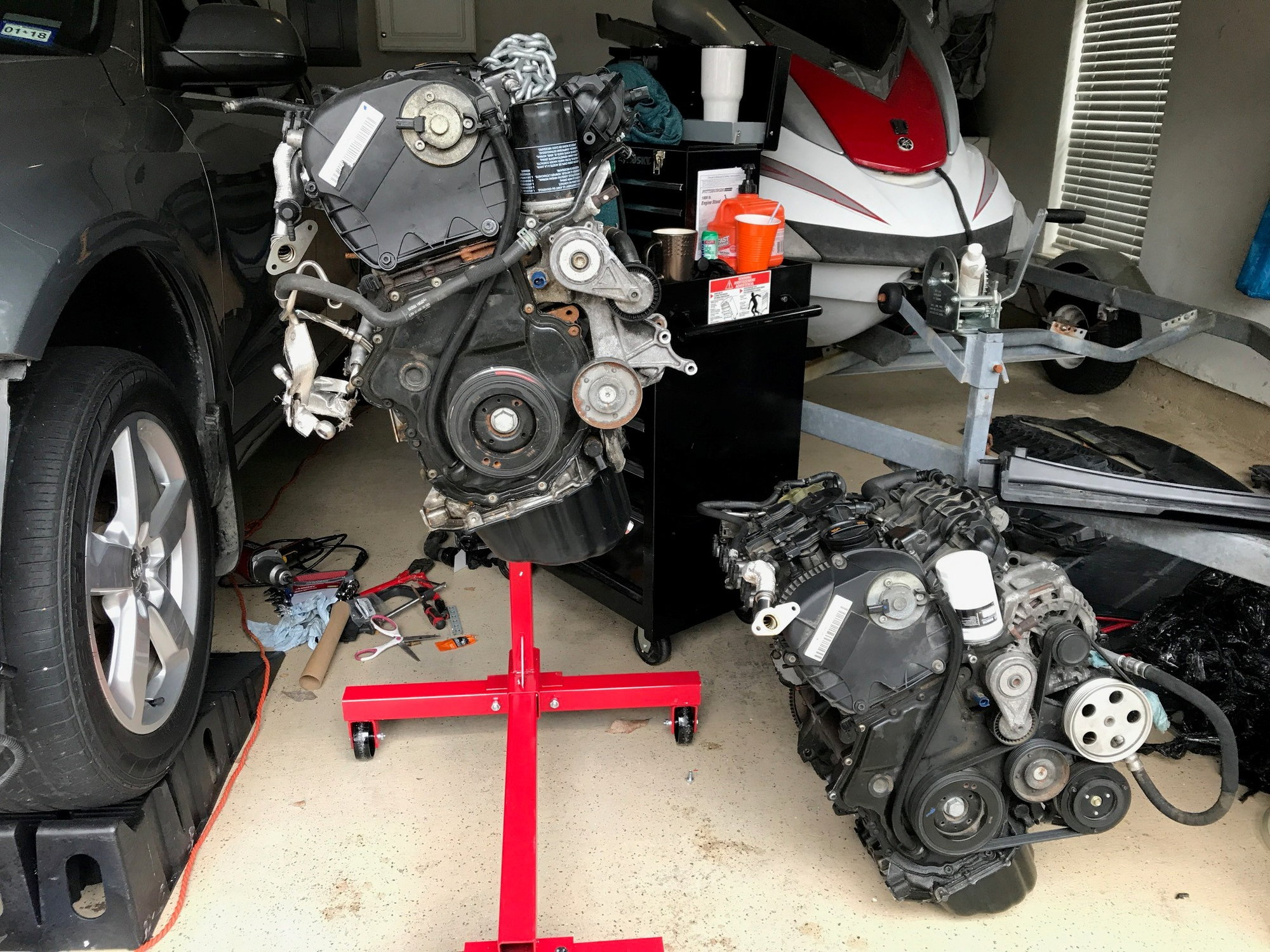 Engine Swap Complete - AudiWorld Forums