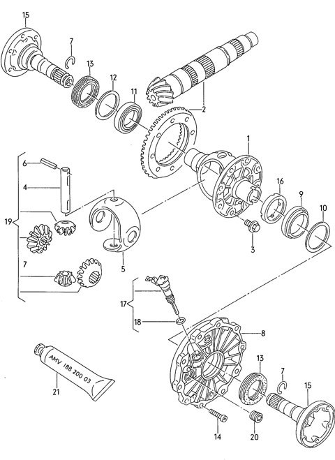 Audi A6 Transmission