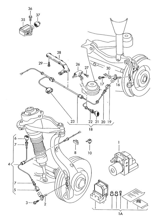 The Diagrams Are Telling Me That 35 In Diagram Is Acceleration Sensor Yaw Which I Know G200 And G201 Codes Respectively: Audi A6 Epb Wiring Diagram At Hrqsolutions.co