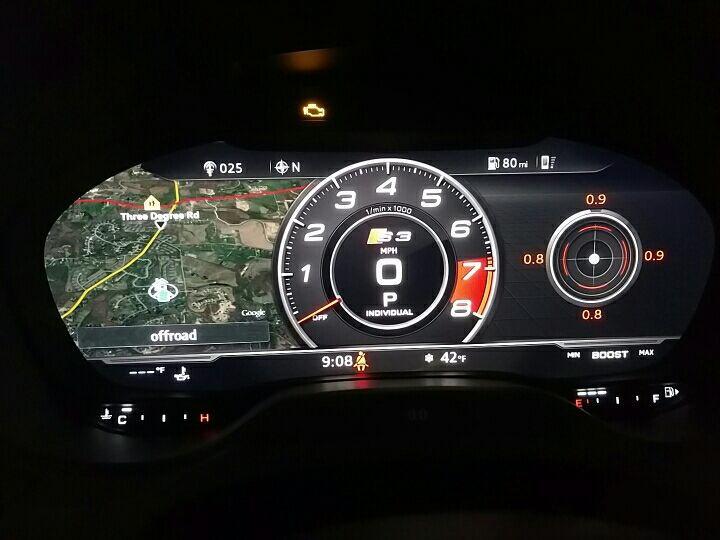 Add G Meter To Virtual Cockpit Display Obdeleven Audiworld Forums