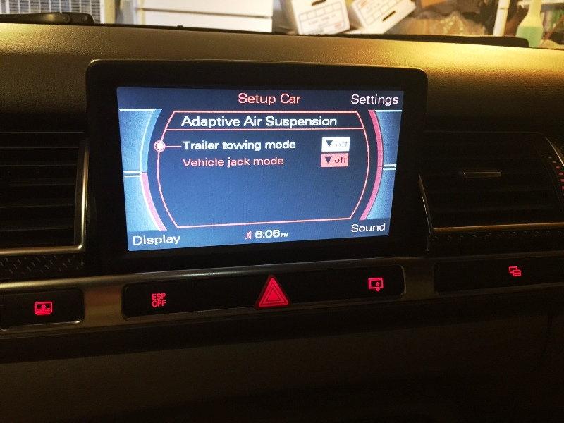 Why I can't eable the hidden menu on my MMI ? - AudiWorld Forums