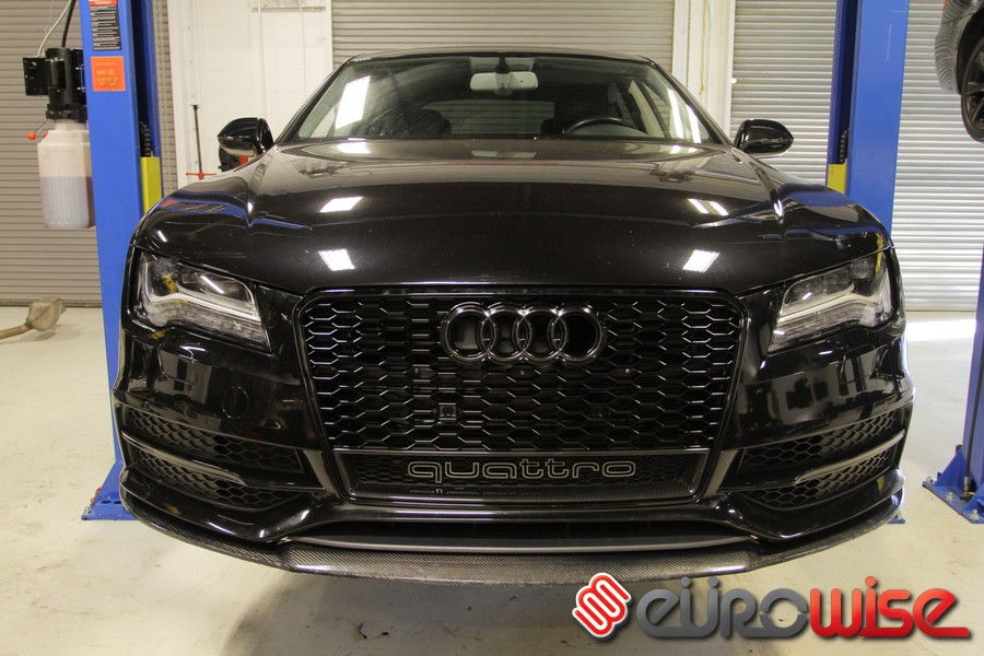 Audi A7 OEM RS7 grille with carbon quattro insert - AudiWorld Forums