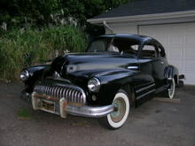 47 Buick Special fastback