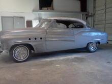 1951 buick super 2dr ht