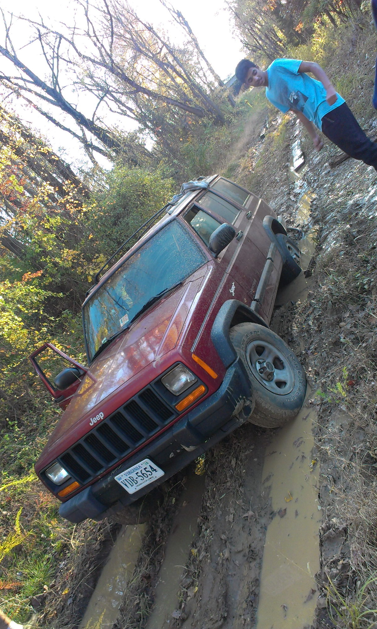 Probably Not Done Right 1999 Xj Jeep Cherokee Forum First Time Getting Stuck