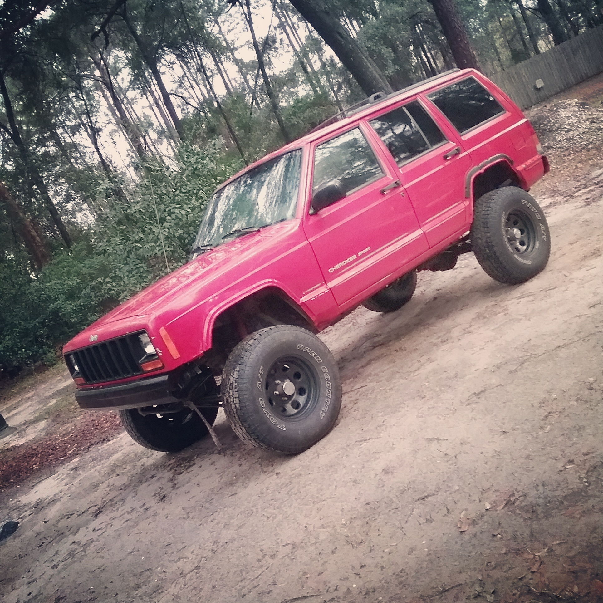 The Jeep We Purchased: Bought An XJ How Can I Measure The Lift It Has?