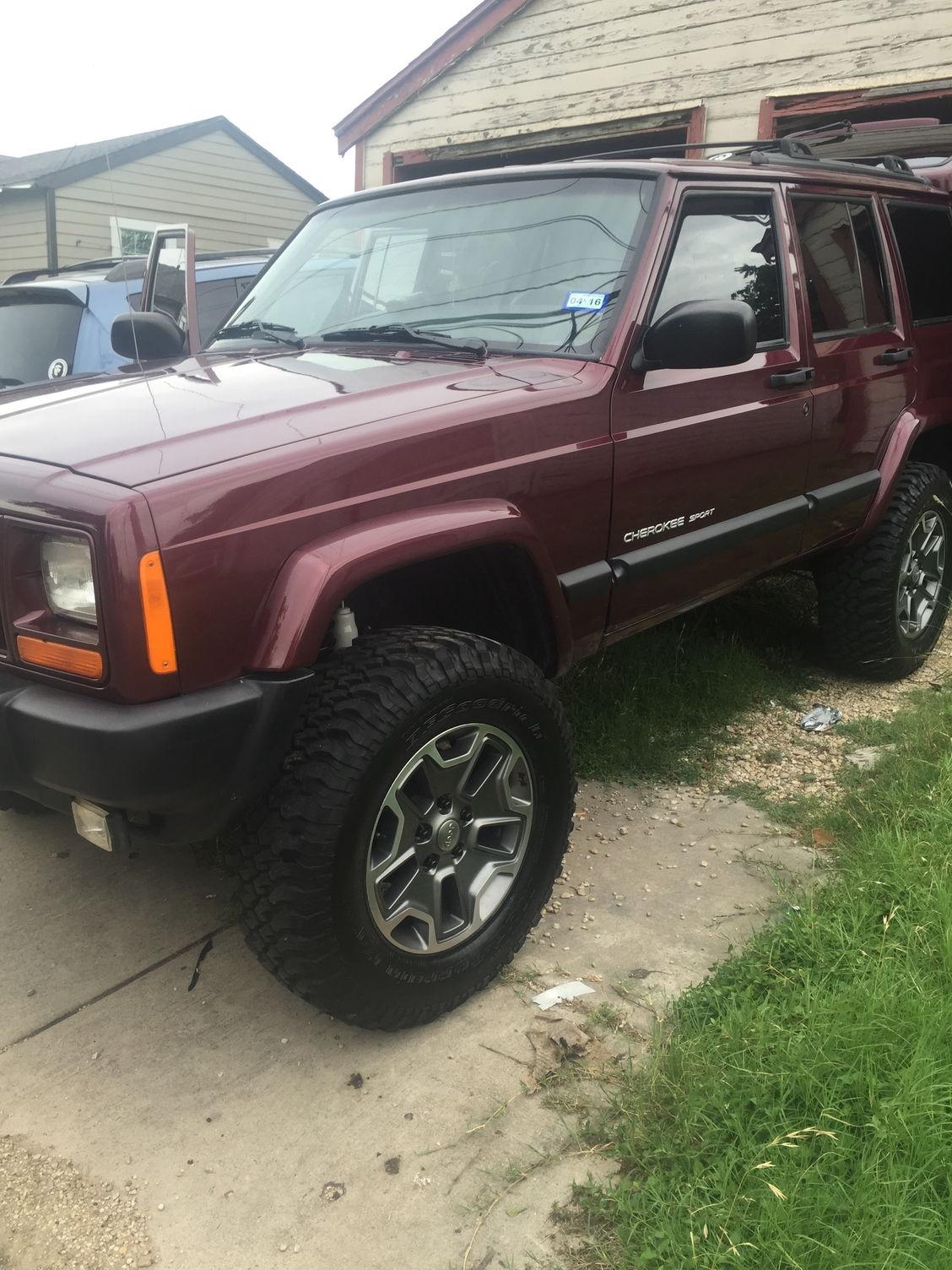 1999 jeep cherokee lift