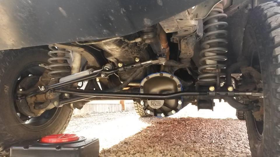 Rugged Ridge 1 Ton Or Crown Heavy Duty Steering Jeep